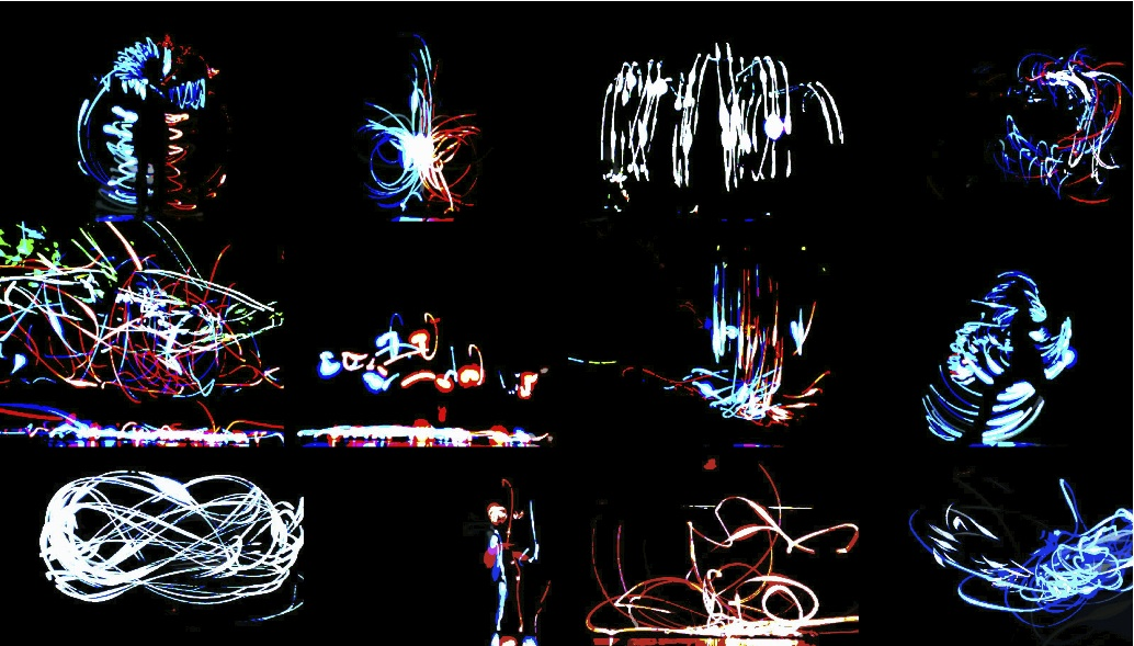 off-crimmp_cinema_04, michal osowski, polly wilson, light graffiti, ocw, stage for small scale events, rotterdam